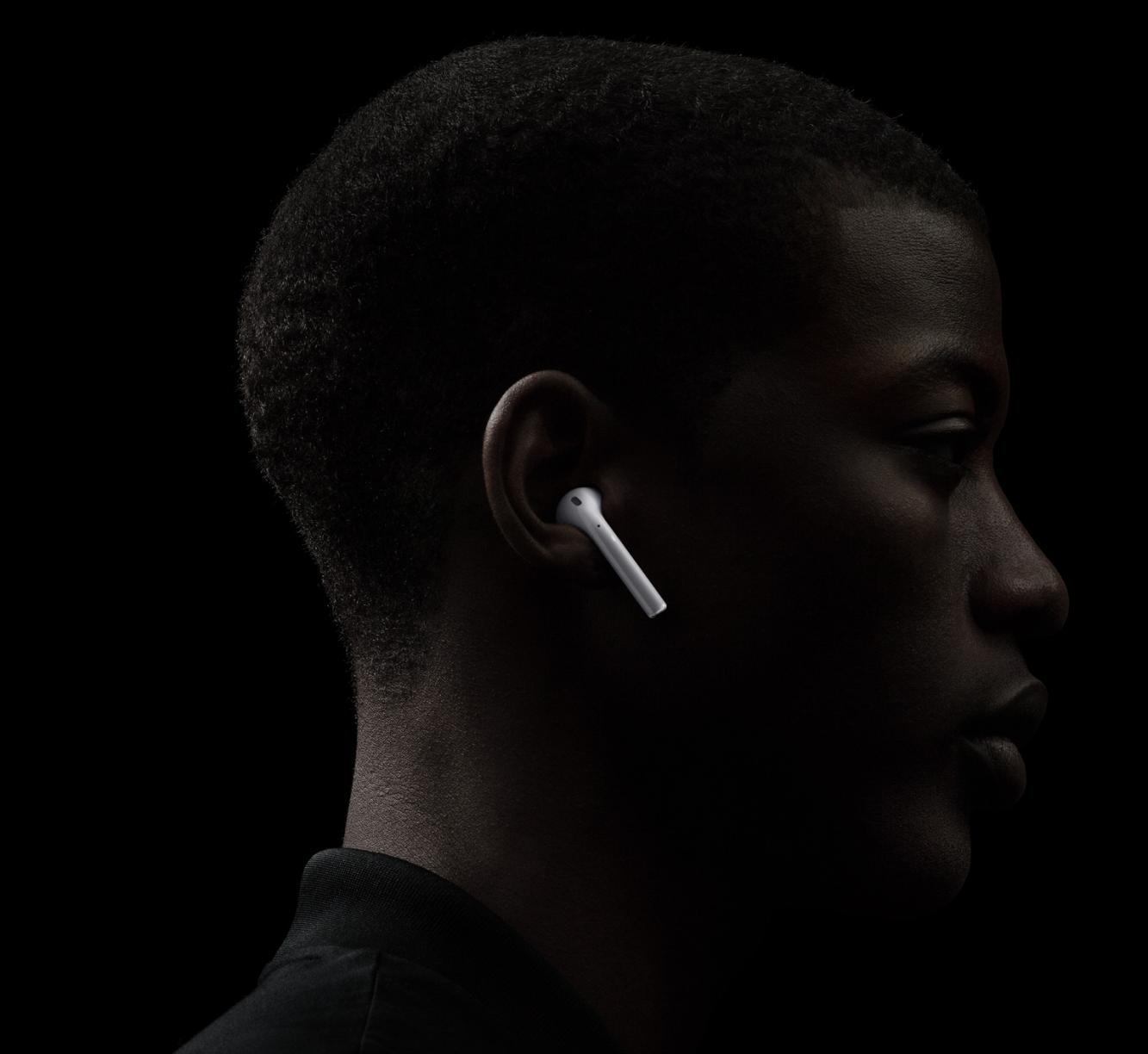 Bezdrôtové slúchadlá Apple AirPods