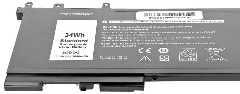 Batérie Movano