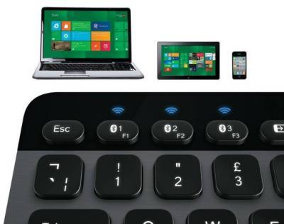 LOGITECH Bluetooth klávesnica K810 Illuminated CZ
