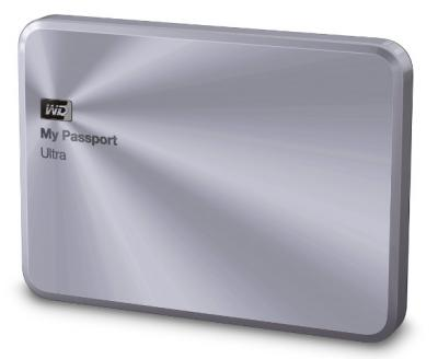 "Western Digital Externý disk 2.5"" My Passport Ultra Metal 1TB USB3.0"