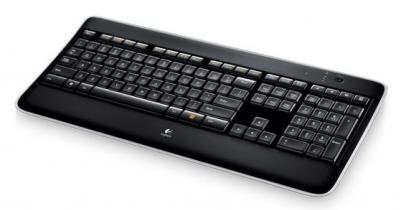 LOGITECH Bezdrôtová klávesnica K800