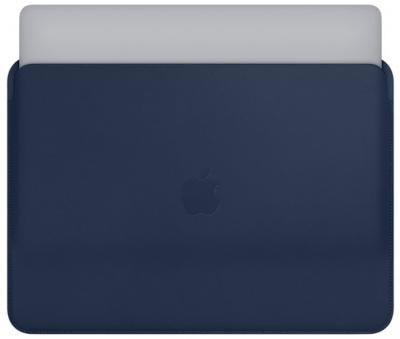 "APPLE Leather Sleeve 13"" Midnight Blue"