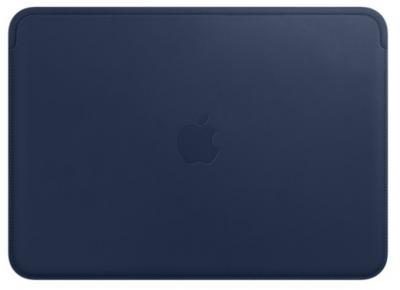 "APPLE Leather Sleeve 12"" Midnight Blue"