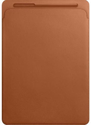 "APPLE Leather Sleeve 12,9"" Saddle Brown"