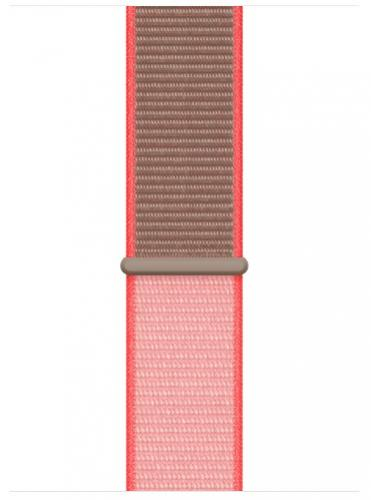 APPLE Remienok 44mm Neon Pink Sport Loop