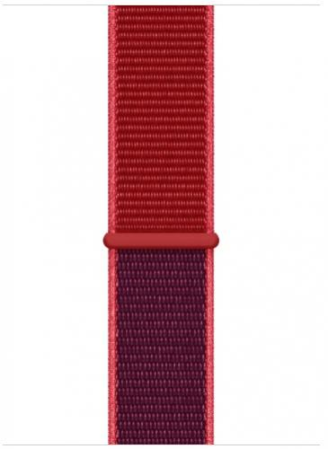 Remienok 44mm Red Sport Loop