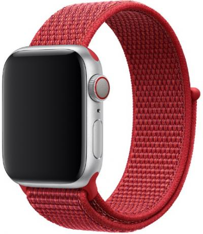 APPLE Remienok 44mm Red Sport Loop