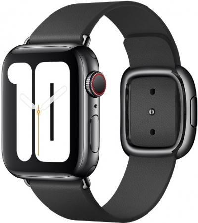 APPLE Remienok 40mm Black Modern Buckle - Small