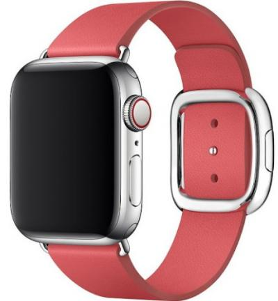 APPLE Remienok 40mm Peony Pink Modern Buckle - Large