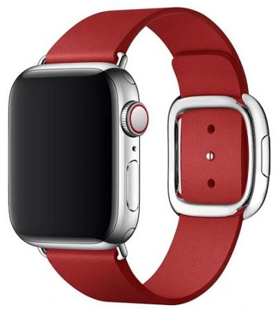APPLE Remienok 40mm Red Modern Buckle - Large