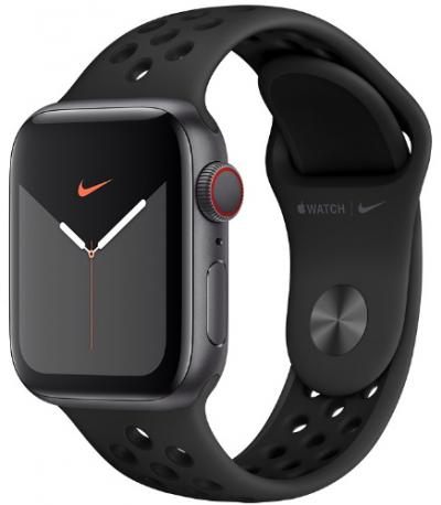 APPLE Remienok 40mm Anthracite/Black Nike Sport Band