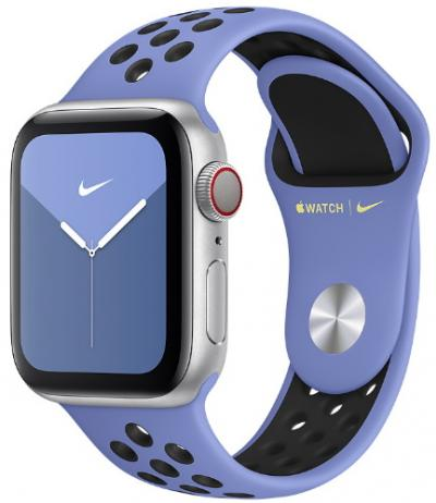 Remienok 44mm Royal Pulse/Black Nike Sport Band