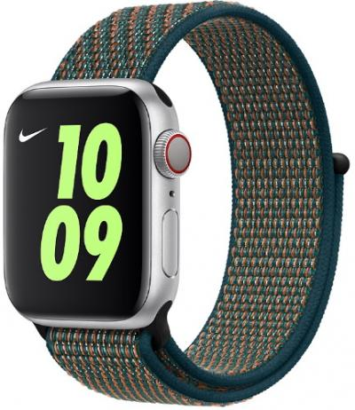 Remienok 40mm Hyper Crimson/Neptune Green Nike Sport Loop