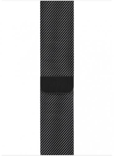 APPLE Remienok 44mm Space Black Milanese Loop
