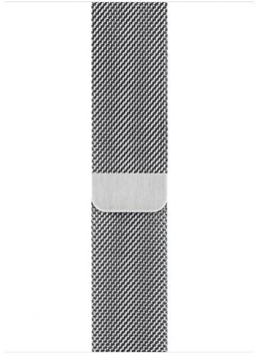 APPLE Remienok 40mm Silver Milanese Loop