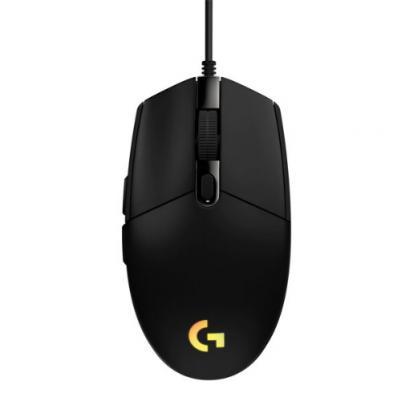 LOGITECH G203 Lightsync herná myš čierna