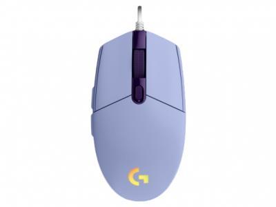 LOGITECH G102 Lightsync herná myš lila