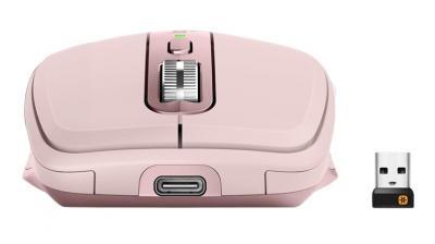 LOGITECH MX Anywhere 3 bezdrôtová myš ružová