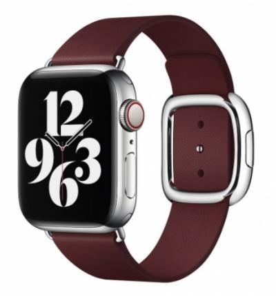 APPLE Remienok 40mm Garnet Modern Buckle - Medium
