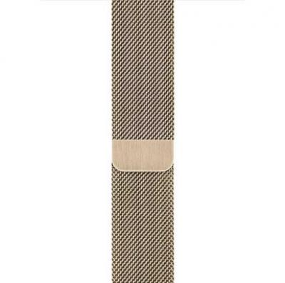 APPLE Remienok 44mm Gold Milanese Loop