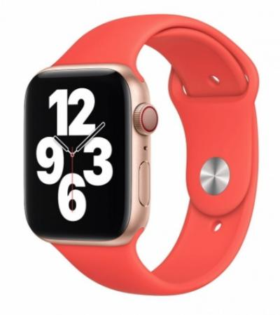 APPLE Remienok 44mm Pink Citrus Sport Band
