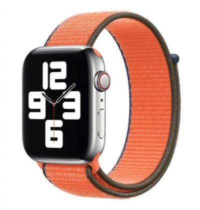 APPLE Remienok 44mm Kumquat Sport Loop