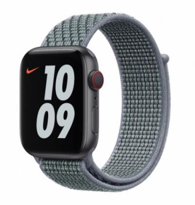 APPLE Remienok 44mm Obsidian Mist Nike Sport Loop