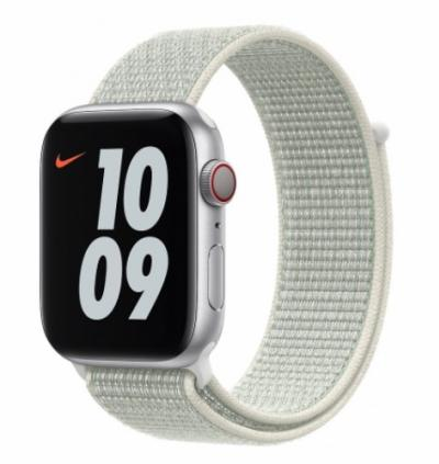 APPLE Remienok 44mm Spruce Aura Nike Sport Loop