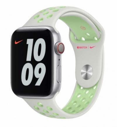 APPLE Remienok 40mm Spruce Aura/Vapor Green Nike Sport Band