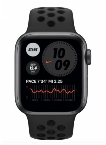 APPLE Watch Nike 6 40mm Space Gray Aluminium with Anthracite/Black Nike Sport Band