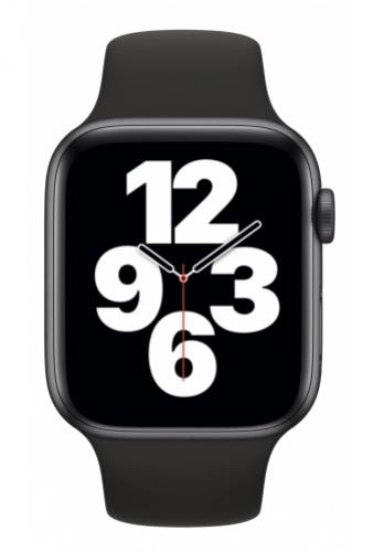 APPLE Watch SE 40mm Space Gray Aluminium with Black Sport Band