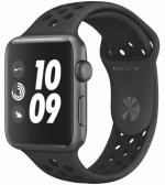 APPLE Watch Nike+ 3 38mm Space Grey Aluminium with Black Nike Sport Band